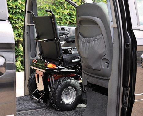 adapted cars for disabled drivers